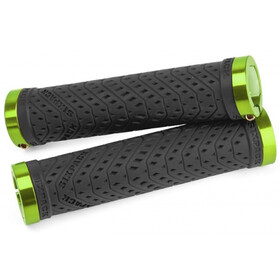 Sixpack K-Trix Lock-On Cykelhåndtag, black/electric green